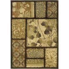Oriental Weavers Grace Wyndham Brown 7 ft. 10 in. x 10 ft. Area Rug-8025D8x10 at The Home Depot