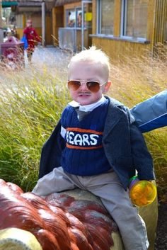 Baby Ditka Halloween Costume.  Seriously amazing.