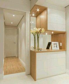 Foyer Design, Home Room Design, Home Interior Design, Living Room Designs, House Design, Wardrobe Door Designs, Wardrobe Design Bedroom, Home Entrance Decor, Home Decor