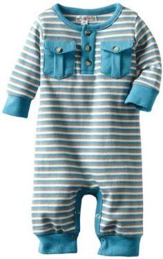 Newborn Henley Stripe Romper