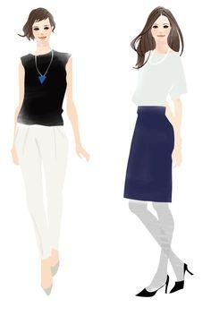 作品  ubies #fashionillust #girl #illust