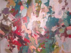 """Backy Fixter, Spruce, 36"""" x 48"""", acrylic on canvas"""