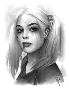 Harley Quinn study by WarrenLouw.deviantart.com on @DeviantArt