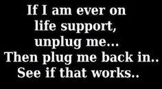 Unplug me
