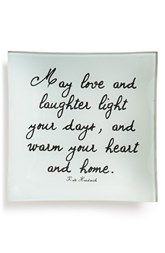 Ben's Garden 'May Love and Laughter' Trinket Tray