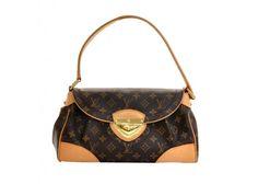 Louis Vuitton Beverly MM Brown Monogram Canvas Hand Bag