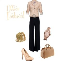 Love this outfit!! Office Fashion... This makes me miss wearing business clothes to work.