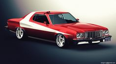 Another Muscle car.. Retouch with CS3...