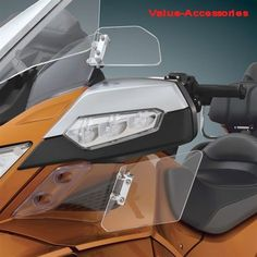 Below Mirror Air Deflectors, Can-Am Spyder RT, 10+