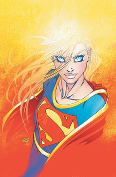 Supergirl by Michael Turner (Miss you, Bro)