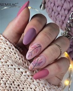 Check out these 70 easy and elegant matte nail designs and get some inspiration! Apply matte nail with your favorite nail polish and to show your matte nails to your friends! manichiur 70 Easy Matte Nail Designs to Stand The Best of Time Pink Nail Designs, Nail Designs Spring, Nails Design, Nail Polish Designs, Hair And Nails, My Nails, Classic Nails, Matte Nails, Acrylic Nails