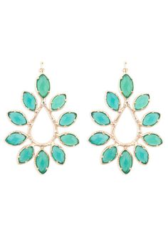 Nyla Emerald Earrings by Kendra Scott at $15 | Rent The Runway