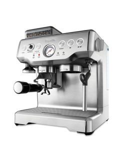 Be your own barista with an espresso machine at home ... As a former Barista (5yrs) I own this machine and love it!