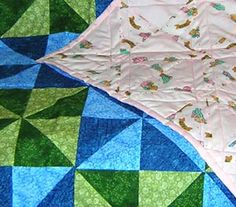 gonna try this pattern for my next quilt for Jesse... but with darker blues and a dark backing