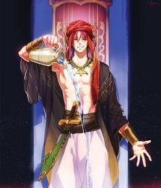 Free! Cosplay -- Rin Matsuoka Cosplay Costume Version 02 - Arabian Ending