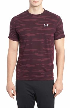 Threadborne Mesh Running T-Shirt UNDER ARMOUR l  UA2018  mensgear Under  Armour T e062532b4c4