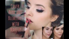 How To Cover Acne and Blemishes with makeup -  Makeup Tips and Tricks