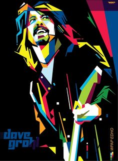 dave grohl wpap edho by edhoartwork on DeviantArt
