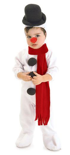 Snowman Infant Toddler christmas costume