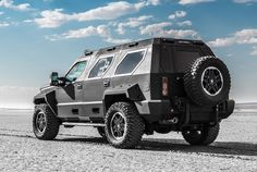 Rhino GX - Available in US soon. Custom Built SUV. Rugged yet luxurious. Built by US Specialty Vehicles.
