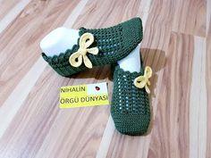 Kolay çeyizlik patik modeli yapılışı/(detaylı anlatım - YouTube Crochet Shoes Pattern, Shoe Pattern, Crochet Patterns, Crochet Sandals, Knitted Slippers, Loafers For Women, Baby Patterns, Crochet Baby, My Design