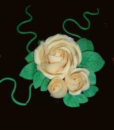 D cors en massepain technique de la rose en pate d 39 amande - Deco pate d amande ...