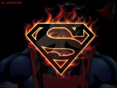 Image detail for -Superman Fire Wallpaper