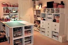 Doesn't fit in this category, but omigosh I have sewing room envy!