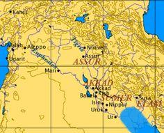 """Képtalálat a következőre: """"mezopotámia térkép nippur"""""""