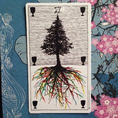 Six of Cups, Wild Unknown tarot! CARD MEANING AND DESCRIPTION! http://happyfishtarot.com/blog/six-of-cups-wild-unknown-tarot/
