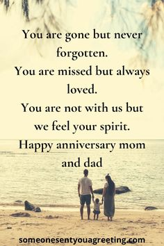 How to Say Happy Anniversary to Deceased Parents: 31 Examples