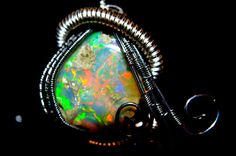 Opal Pendant - October Birthstone