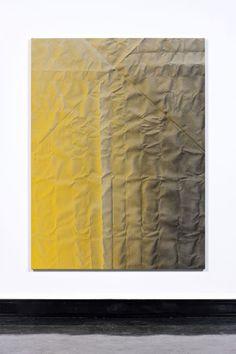 Tauba Auerbach / untitled (fold), 2011