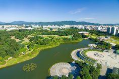 Parque Olímpico de Seúl - Corea del Sur