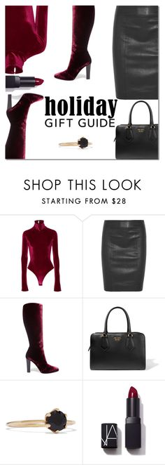 """""""Gift Guide: Stocking Stuffers"""" by danielle-487 ❤ liked on Polyvore featuring Alix, Joseph, Yves Saint Laurent, Prada, Sarah & Sebastian, NARS Cosmetics and giftguide"""