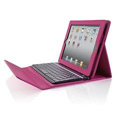 b147142c6f1 Amazon.com: Brookstone Bluetooth Keyboard for iPad 2 Pink: Computers &  Accessories