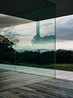 No architecture can make a landscape as soul-stirringly beautiful as the coastline of the Tasman Peninsula more powerful, but the right building can distil and heighten the experience of inhabiting such a place. Setting out to capture the elemental qualities of this experience. #buildingdesign #kitchenideas #homemakeover #diy #architecture #moderndesignideas #diyideas #amazinghouses #housegoals Timber Flooring, House Goals, Floor Design, Skylight, Pavilion, Building Design, The Locals, Interior Architecture, Modern Design