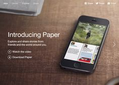 Paper - Stories from Facebook