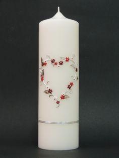 Hochzeitskerze Nr.102-S von CERA-Kerzen auf DaWanda.com