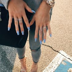 Find out what it's like to wear Kylie Jenner's nails for a week.