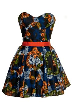 Style Icon's Closet style Vintage Inspired Pin-Up African Print Retro Rockabilly Clothing — Tribal African Print Party Dress [Or top, in my case! African Fashion Designers, African Inspired Fashion, African Print Fashion, African Print Dresses, African Dress, African Prints, African Clothes, Ankara Dress, African Attire