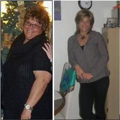 Before and After.   Check out http://www.bodybuildingreports.com for much more info.