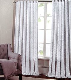 Max Studio Home Moroccan Tiles Lattice Window Panels 52 by 96-inch Set of 2 Quatrefoil Scroll Window Curtains Hidden Tabs (Grey/Gray) Tahari Home http://www.amazon.com/dp/B012OREULQ/ref=cm_sw_r_pi_dp_pcSUvb0HEEPE0