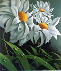 The Daisies 1999 by Claude Theberge