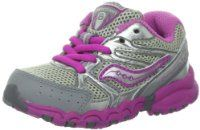 Saucony Girls Baby Cohesion 6 LTT Running Shoe (Toddler)