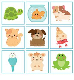 Preschool Movement Activities, Toddler Learning Activities, Games For Toddlers, Preschool Classroom, Preschool Crafts, Preschool Activities, Flashcards For Kids, Class Decoration, Animal Projects