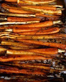 Maple-Glazed Parsnips and Carrots Recipe | Martha Stewart