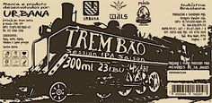Cerveja Urbana/Wäls Trem Bão Session IPA Saison, estilo Saison / Farmhouse, produzida por Cervejaria Wäls, Brasil. 4% ABV de álcool.