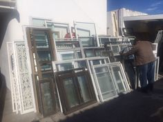 Aluminium windows starting from R350 each30 Induland Crescent, Pinati, Landsdowne0216921275Constance and DavidFACEBOOK: RosssalvageyardsWEB: www.rosssalvage.co.za