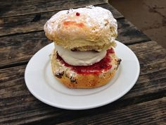 3.5 out of 5 for the scone at the Ashridge Estate!